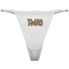 Idaho Graffiti Ladies Thong Underwear