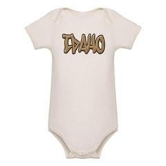 Idaho Graffiti Organic Baby Bodysuit