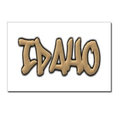 Idaho Graffiti Postcards (Package of 8)