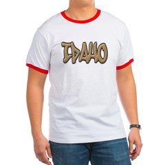 Idaho Graffiti Ringer T-Shirt
