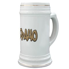 Idaho Graffiti Stein