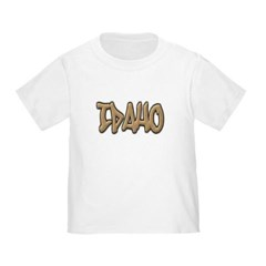 Idaho Graffiti Toddler T-Shirt