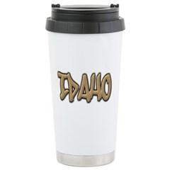 Idaho Graffiti Travel Mug