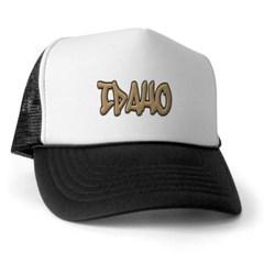 Idaho Graffiti Trucker Hat