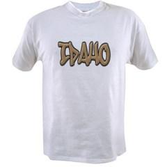 Idaho Graffiti Value T-shirt