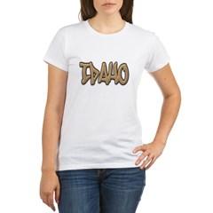 Idaho Graffiti Women's Organic T-Shirt