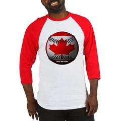 Canadian Baseball Baseball Jersey T-Shirt