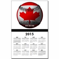 Canadian Baseball Calendar Print