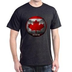 Canadian Baseball Dark T-shirt