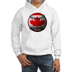 Canadian Baseball Hooded Sweatshirt