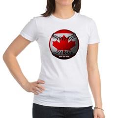 Canadian Baseball Junior Jersey T-Shirt