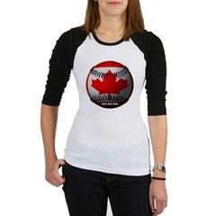 Canadian Baseball Junior Raglan T-shirt