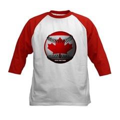 Canadian Baseball Kids Baseball Jersey T-Shirt