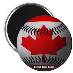 Canadian Baseball Magnet