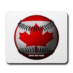 Canadian Baseball Mousepad