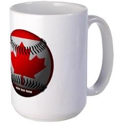 Canadian Baseball Mug