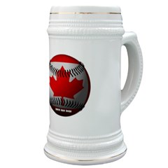Canadian Baseball Stein