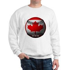 Canadian Baseball Sweatshirt