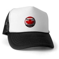 Canadian Baseball Trucker Hat