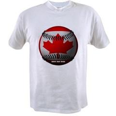 Canadian Baseball Value T-shirt