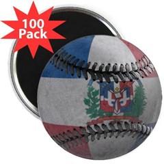 "Dominican Republic Baseball 2.25"" Magnet (100)"