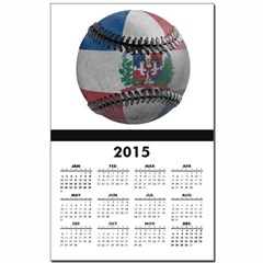 Dominican Republic Baseball Calendar Print