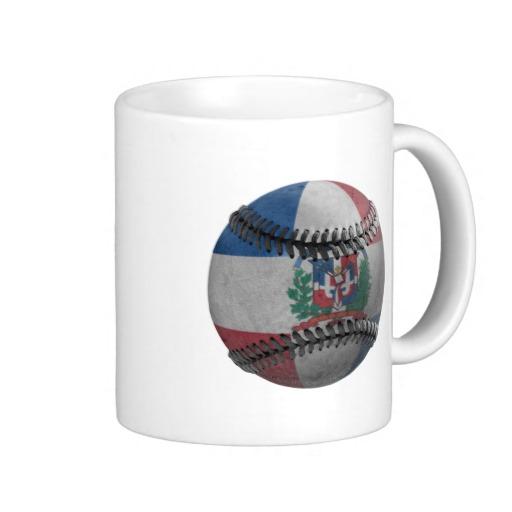 Dominican Republic Baseball Classic White Mug