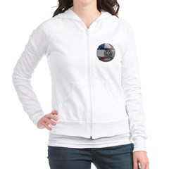 Dominican Republic Baseball Junior Zip Hoodie