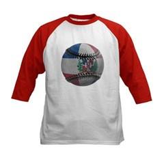 Dominican Republic Baseball Kids Baseball Jersey T-Shirt