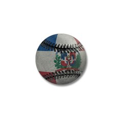 Dominican Republic Baseball Mini Button