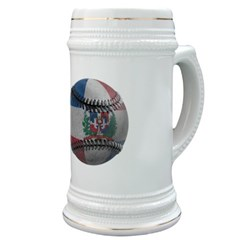 Dominican Republic Baseball Stein