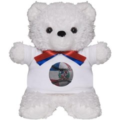 Dominican Republic Baseball Teddy Bear