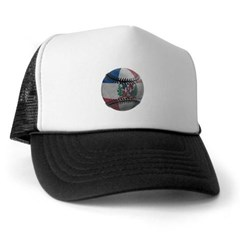 Dominican Republic Baseball Trucker Hat