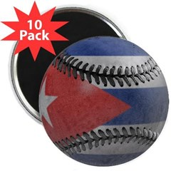 "Cuban Baseball 2.25"" Magnet (10 pack)"