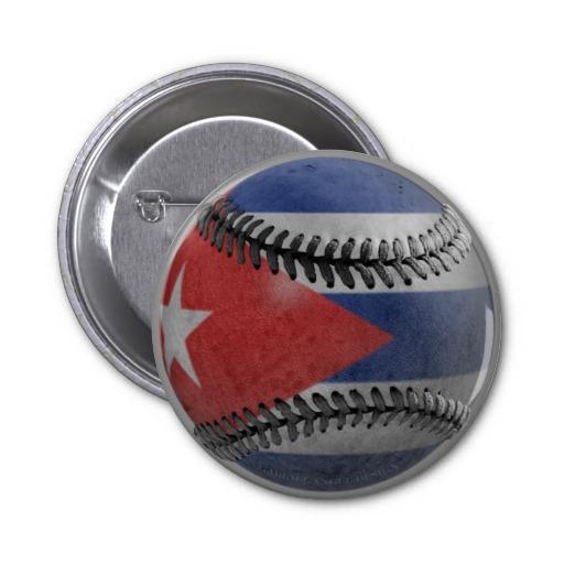 Cuban Baseball 2 Inch Round Button