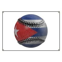 Cuban Baseball Banner