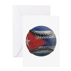 Cuban Baseball Greeting Cards (Pk of 10)