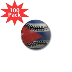 Cuban Baseball Mini Button (100 pack)
