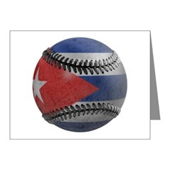 Cuban Baseball Note Cards (Pk of 20)