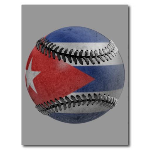 Cuban Baseball Postcard