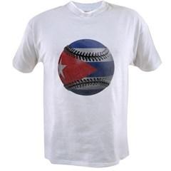 Cuban Baseball Value T-shirt