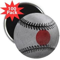 """Japanese Baseball 2.25"""" Magnet (100 pack)"""