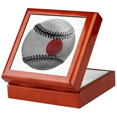 Japanese Baseball Keepsake Box