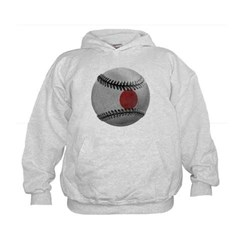 Japanese Baseball Kids Sweatshirt by Hanes
