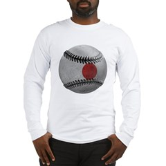 Japanese Baseball Long Sleeve T-Shirt