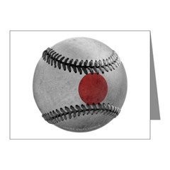 Japanese Baseball Note Cards (Pk of 20)