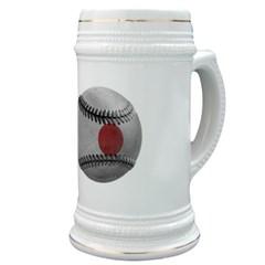 Japanese Baseball Stein