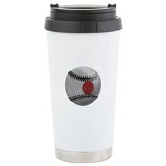 Japanese Baseball Travel Mug