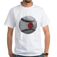 Japanese Baseball White T-Shirt