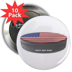 "USA Hockey 2.25"" Button (10 pack)"